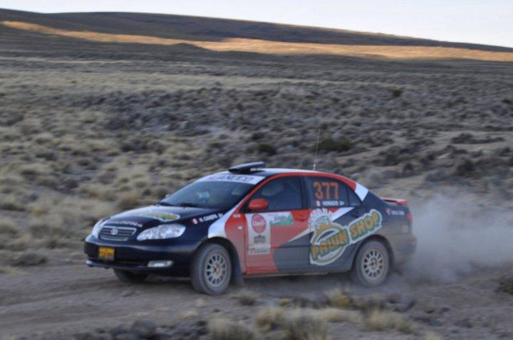 Horacio Canepa Rally Cañon del Colca 2010 14